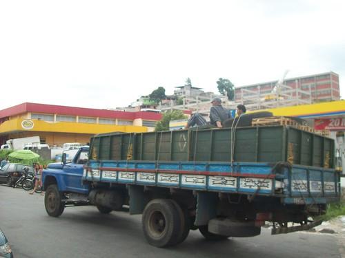 Caminhão da feira
