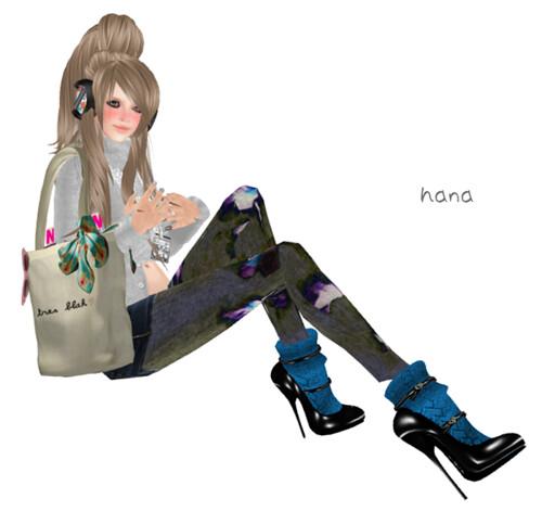 *GiftTARA Superb High Heels Blue