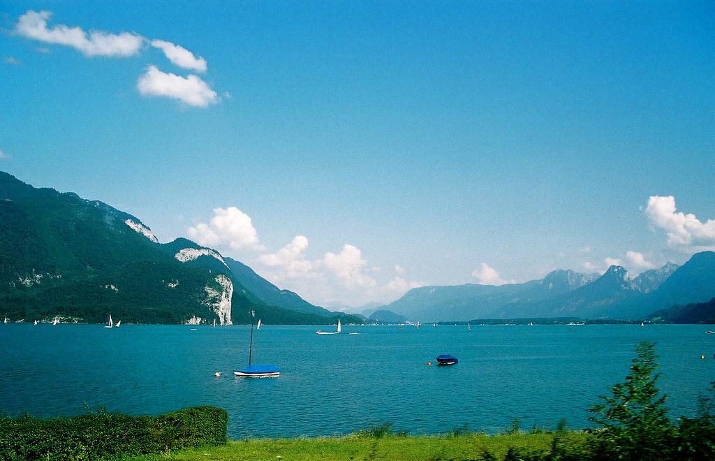 Turquoise Austrian Lake