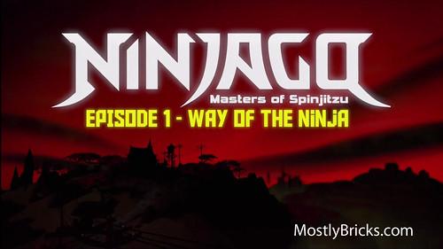 LEGO Ninjago Masters of Spinjitzu - Way of the Ninja Movie Review