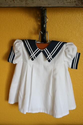 vintage sailor dress.