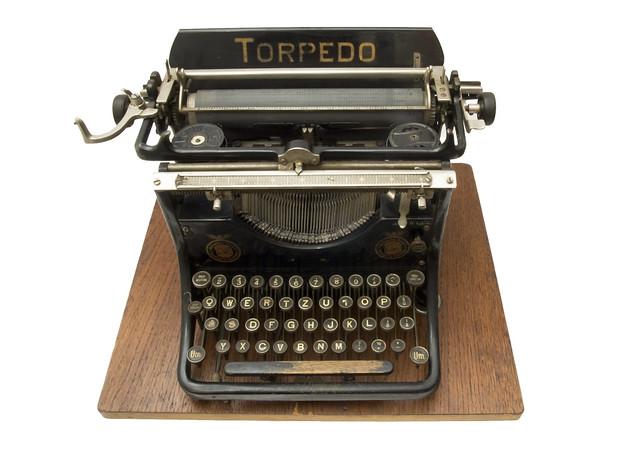 Torpedo 5 typewriter