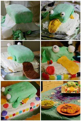 cake making!