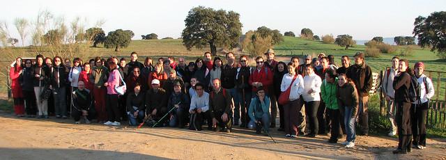 grupo de senderismo Las Grullas 2011