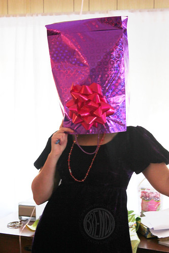 when the guests get bored, try paper bag tricks
