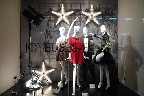 Vitrines Zara - Paris, décembre 2010
