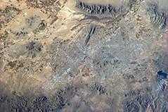 Located in northeastern Sonoran Desert (astro_paolo) Tags: arizona usa phoenix nasa iss esa internationalspacestation earthfromspace europeanspaceagency expedition26 magisstra