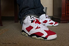 WDYWT (Never Wear Them) Tags: 6 michael air nike jordan vi carmine cdp