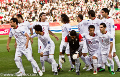 DPR_North_Korea_0_Iran_1_(28_of_57) (MR ST) Tags: people cup sport horizontal asian hope fan football iran stadium soccer group afc northkorea doha qatar iri dpr 2011 sportsteam capitalcities matchsport asiancup qatarsportsclubstadium