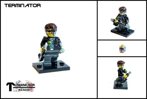Custom minifig The Terminator custom minifig