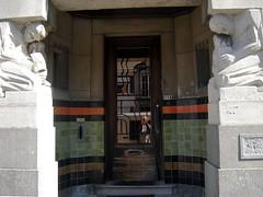 Architectenwoning Silvain Smis, Oostende (Erf-goed.be) Tags: geotagged westvlaanderen oostende woonhuis archeonet architectenwoning geo:lat=512228 silvainsmis eduarddecuyperstraat geo:lon=29035