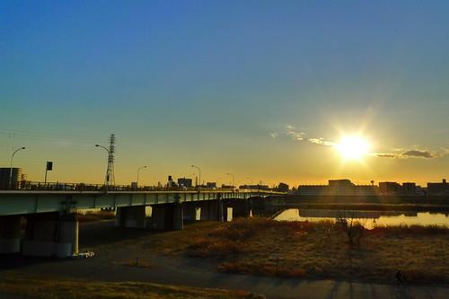 Arakawa Sunset