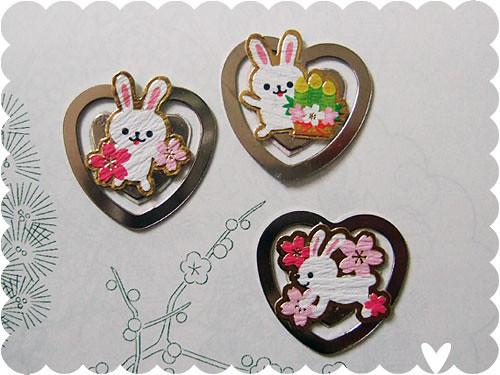 Bunny Book Hearts
