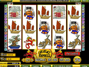 Orient Express slot game online review