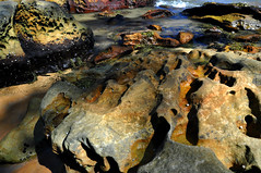 Rocks on Beach Pittwater (Dawn Woodhouse) Tags: seascape beach rock interesting scenery stones sydney australia pittwater kuringgai wow1 wow2 wow3 wow4