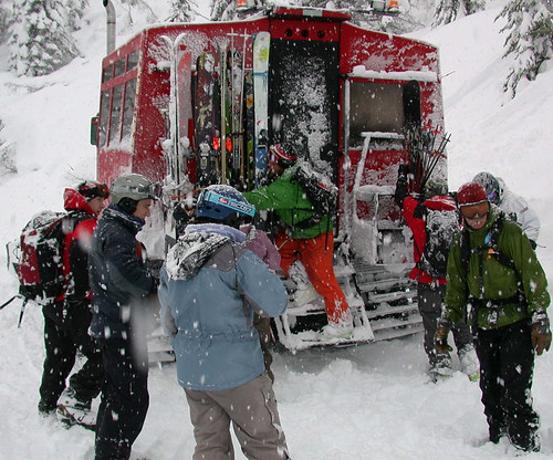 Cat Skiing at Whitefish Mountain