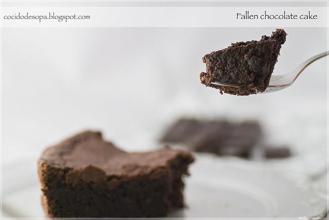 Fallen chocolate cake_4