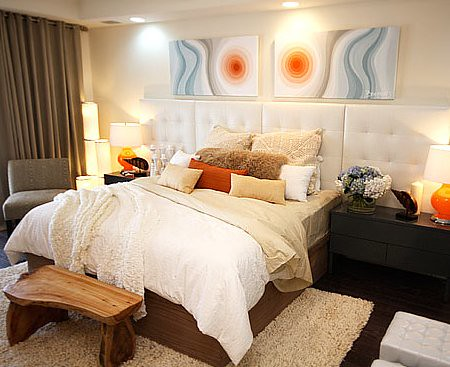 David Bromstad, bedroom design