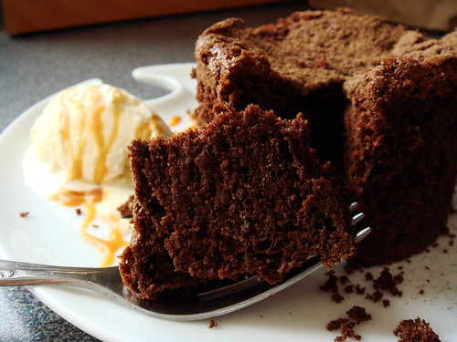 Michel Rostang's Double Chocolate Mousse Cake: Profile