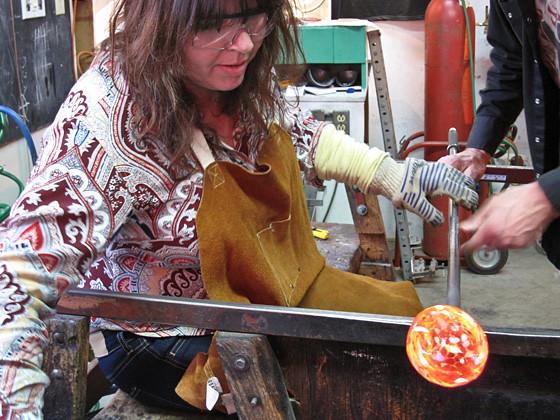 Glass Flower-Making