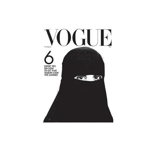 Scott King, How I'd Sink American Vogue, 2006 Taliban