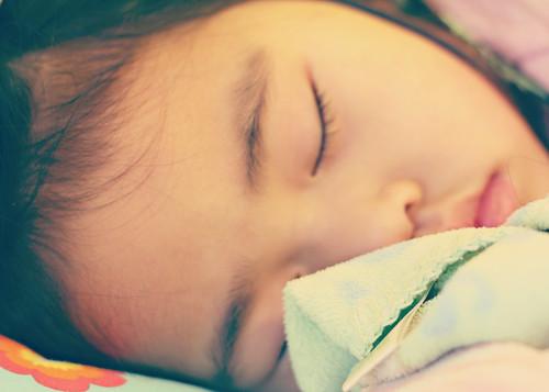 lily sleeps