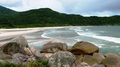 Praia dos Naufragados (Andria Reis) Tags: brazil praia brasil natureza florianpolis santacatarina fpolis