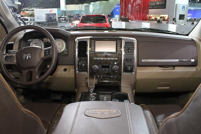 auto show truck north detroit pickup international american longhorn ram edition laramie the 2011