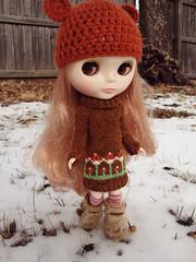Klara in Woollyrockers