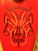 Pinstriping - Skull (Marius Mellebye / 276ccm) Tags: skull harleydavidson enamel pinstriping custompaint bobber mariusmellebye 1shot 883r 276ccm