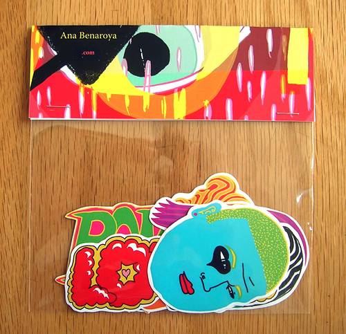 new sticker pack by ana benaroya