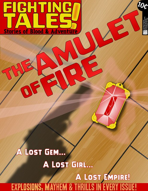 Fighting Tales: The Amulet Of Fire