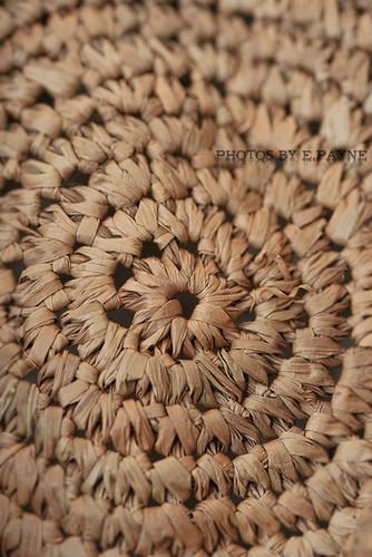 Straw Fedora Texture