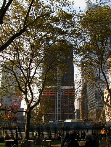 Construction of  WTC redevelopment plan Tower 2