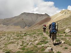 Camino al campamento base