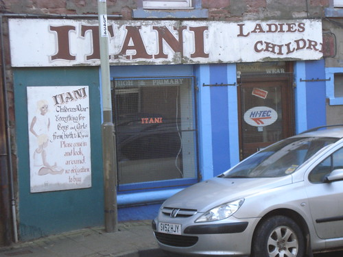 Itani clothing shop, Coupar Angus