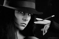 B&W (Reografie) Tags: studio shoot smoking spijkenisse fotoshoot studiofotografie studiofoto potrtret nibbie reografie