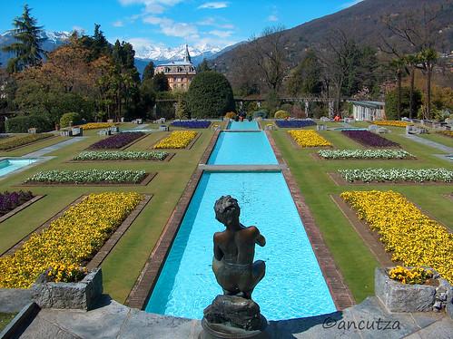 Giardini Villa Taranto Lago Maggiore Italia