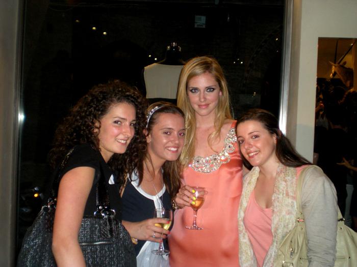 con Silvia, Giulia e me