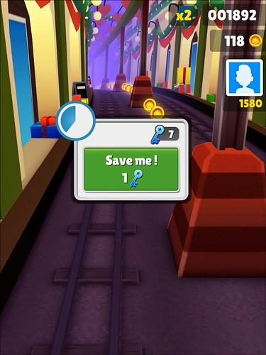 Subway Surfers Save Me!: screenshots, UI