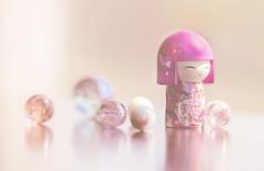 mitsuko (rockinmonique) Tags: kimmidoll marble marvellousmarbles tiny toy miniature pink pretty girly soft cute moniquew canon tamron copyright2016moniquewphotography