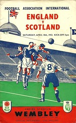 England v Scotland 19530418 (tcbuzz) Tags: england football association fa wembley stadium london programme british championships