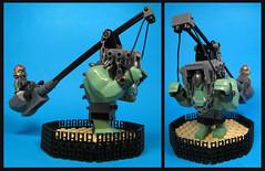 Self Propelled Assault Catapult (Karf Oohlu) Tags: lego moc minifig oec troll catapult mobilecatapult orcparatrooper