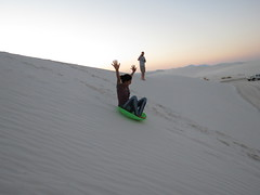 Wild Ride (whitesands_nps) Tags: whitesandsnationalmonument sleds sledding sand publiclands
