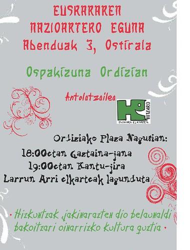 euskara eguna kartela