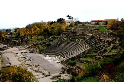 Roman ruins in Lyon