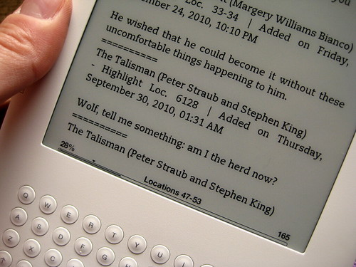 Kindle Love: Highlighting on the fly