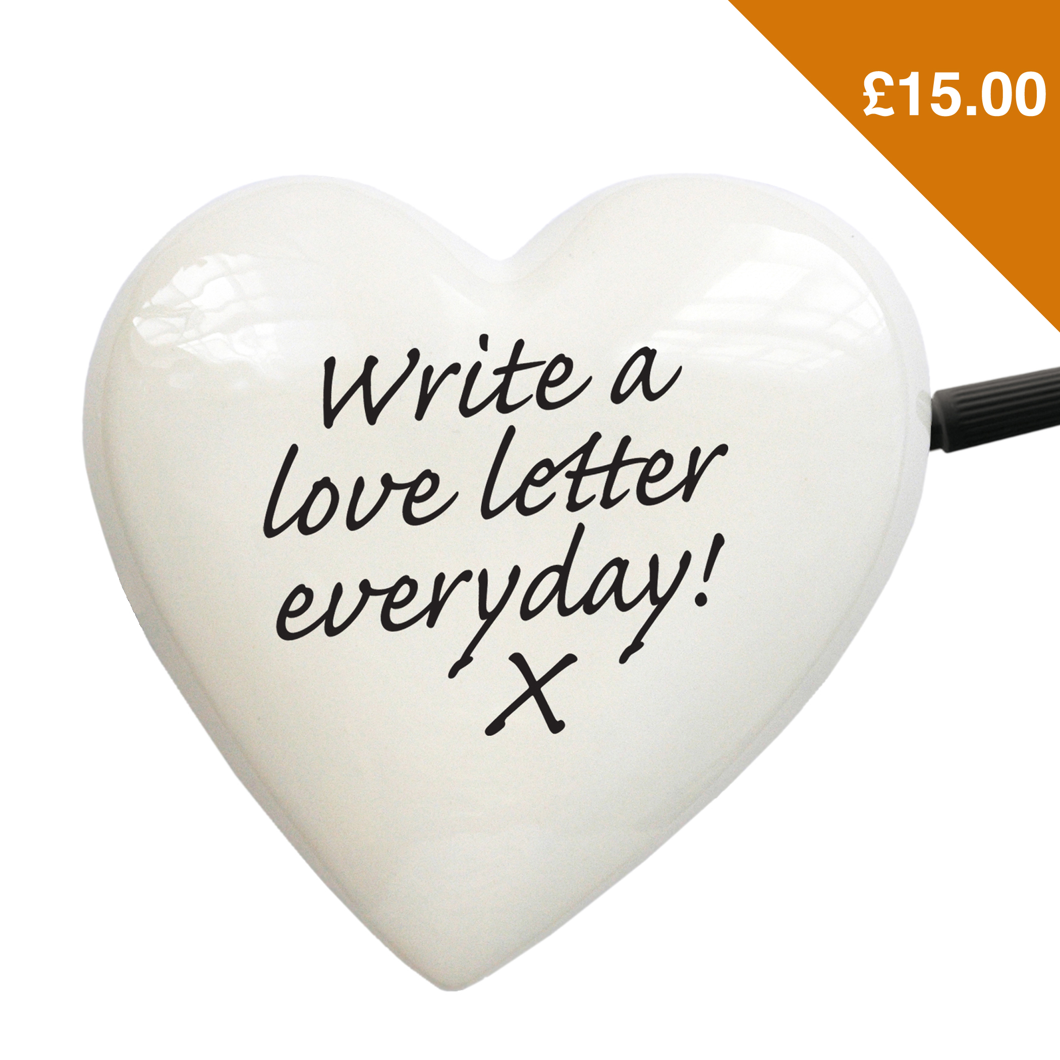 Ceramic Heart Notepad