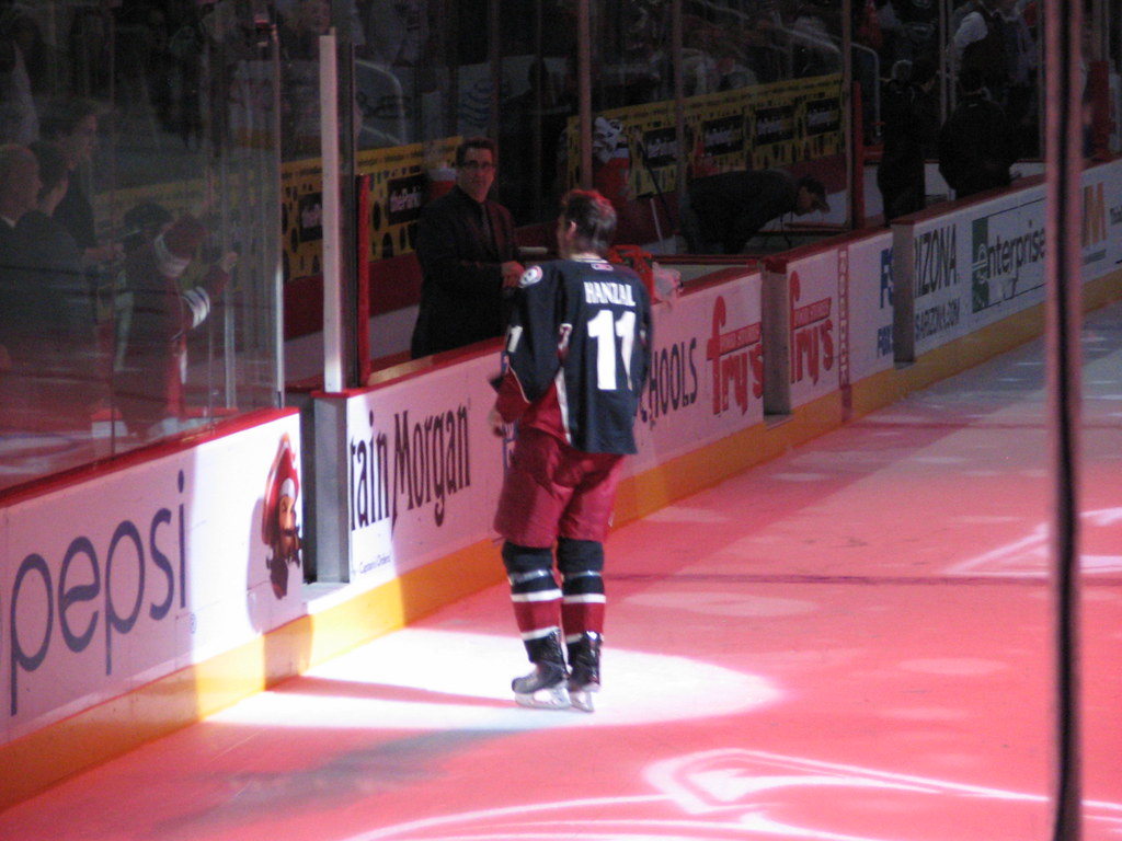 Edmonton Oilers v Phoenix Coyotes Jobing.com Arena NHL Hockey November 23, 2010