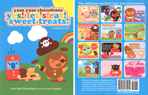 Yum Yum Chocobuns Comic Book